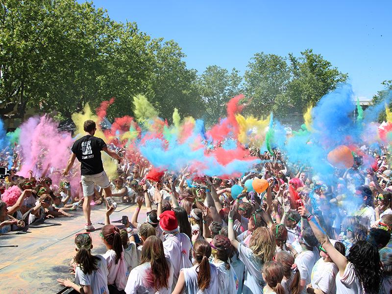 course des couleurs